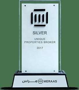 Meraas Silver Broker Award 2017 Award