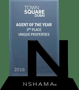 Nshama Top Agent 2016