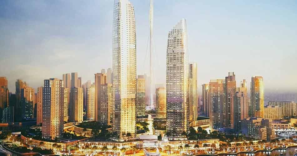 Dubai Skyline 景色